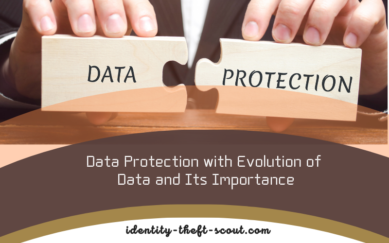 Data Protection with Evolution of Data and Its Importance