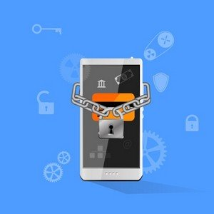 mobile device security concept